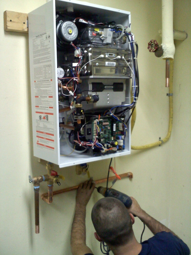 Hook-up of the Water Heater